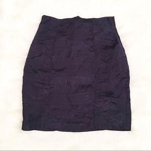 Nanette Lepore Skirts - Nanette Lepore navy blue pinstripe skirt 6
